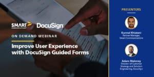 SmartIQ Partner Webinar with DocuSign